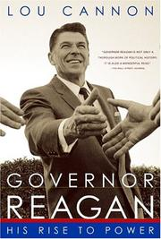 Cover of: Governor Reagan