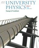 Cover of: Sears and Zemansky's university physics.