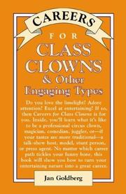 Cover of: Careers for class clowns & other engaging types