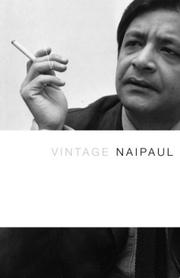 Cover of: Vintage Naipaul