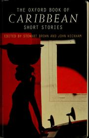 Cover of: The Oxford book of Caribbean short stories