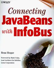 Cover of: Connecting JavaBeans with InfoBus