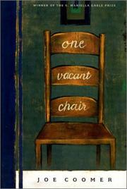 Cover of: One vacant chair