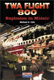 Cover of: TWA flight 800