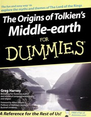 Cover of: The origins of Tolkien's middle-earth for dummies
