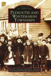 Cover of: Plymouth and Whitemarsh townships