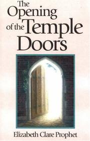 Cover of: The opening of the temple doors