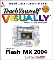 Cover of: Teach yourself visually Macromedia Flash MX 2004