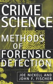Cover of: Crime science