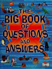 Cover of: The big book of questions and answers