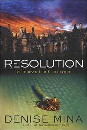 Cover of: Resolution