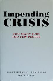 Cover of: Impending crisis