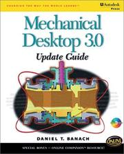 Cover of: Mechanical desktop 3.0 update guide