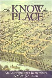 Cover of: To know the place