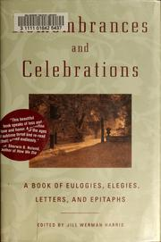 Cover of: Remembrances and celebrations