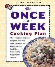 Cover of: The once-a-week cooking plan