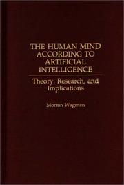 Cover of: The human mind according to artificial intelligence