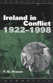Cover of: Ireland in conflict, 1922-1998