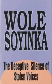Cover of: The deceptive silence of stolen voices