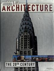 Cover of: Icons of architecture