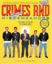 Cover of: Crimes and misDUMBmeanors