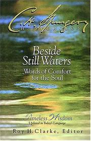 Cover of: Beside still waters: words of comfort for the soul
