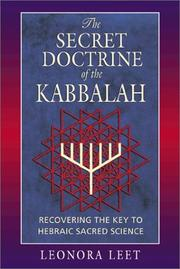 Cover of: The secret doctrine of the Kabbalah