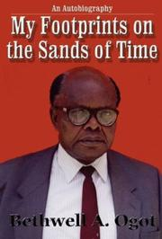 Cover of: My footprints on the sands of time: an autobiography