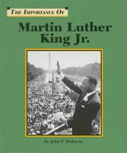 Cover of: Martin Luther King, Jr