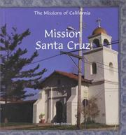 Cover of: Mission Santa Cruz