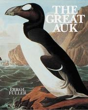 Cover of: The great auk