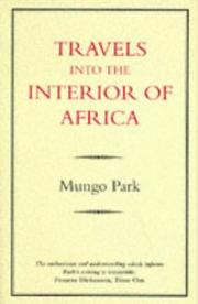 Cover of: Travels Into the Interior of Africa
