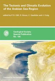 Cover of: The tectonic and climatic evolution of the Arabian Sea Region