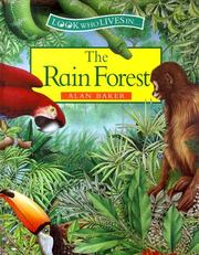 Cover of: The rain forest