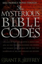 Cover of: The Mysterious Bible Codes