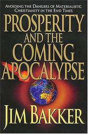 Cover of: Prosperity and the coming apocalypse