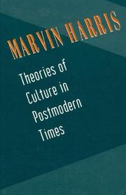 Cover of: Theories of culture in postmodern times