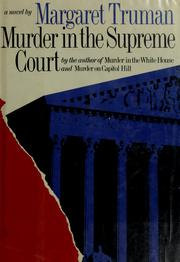 Cover of: Murder in the Supreme Court