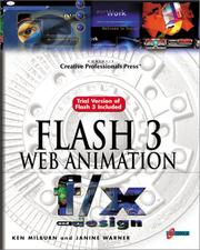 Cover of: Flash 3 Web animation f/x and design