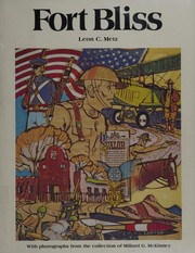 Cover of: Fort Bliss, an illustrated history