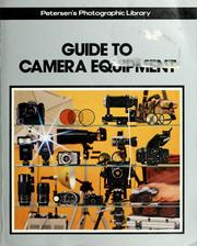 Cover of: Guide to camera equipment