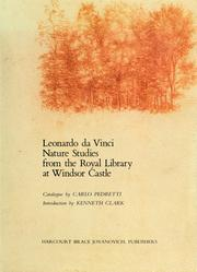 Cover of: Leonardo da Vinci nature studies from the Royal Library at Windsor Castle