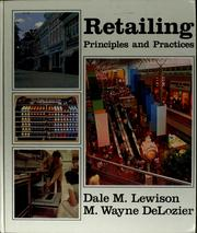 Cover of: Retailing, principles & practices