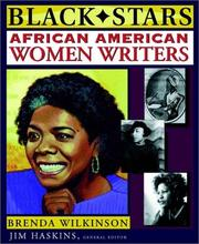 Cover of: African American women writers
