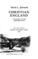 Cover of: Christian England