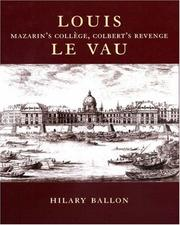 Cover of: Louis Le Vau