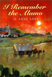 Cover of: I remember the Alamo