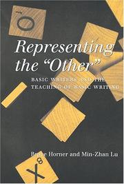 "Cover of: Representing the ""other"""