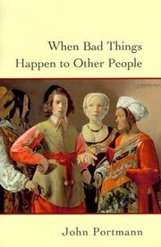 Cover of: When bad things happen to other people
