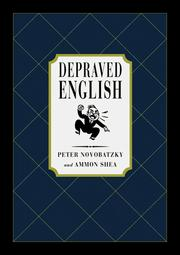 Cover of: Depraved English